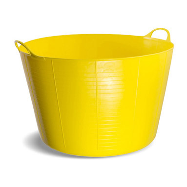 5x Gorilla Tubs Extra Large Work Trugs 75l Builders