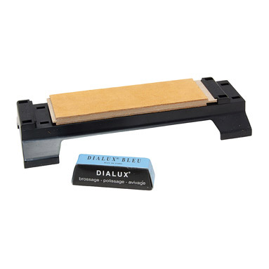 CONNELL OF SHEFFIELD DOUBLE SIDED LEATHER STROP /& COMPOUND C-STR-8-P
