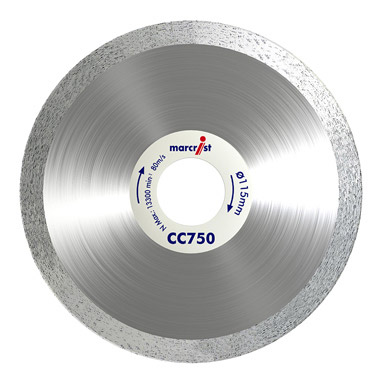 Marcrist Cc750 Tile Curve Cutting Blade 115mm