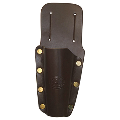 Secateur holster deluxe mahogany brown leather for Shear magic garden tools